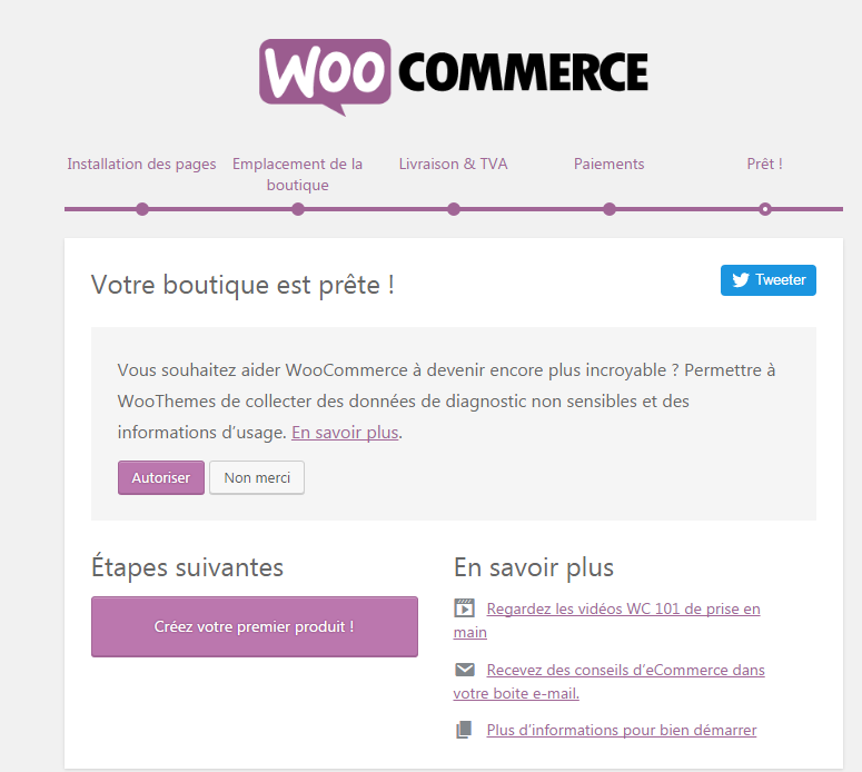 boutique prete woocommerce