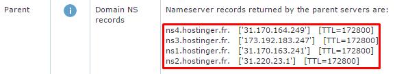Vérifier les enregistrements DNS de votre serveur