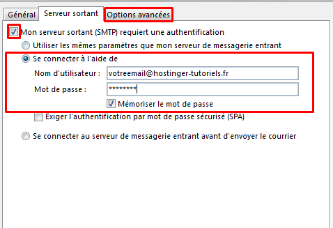 configurer email outlook10