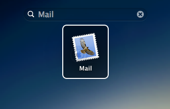 Launchpad mail mac