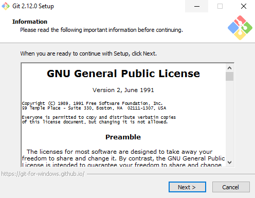 git install windows