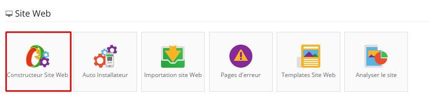 Constructeur de site web Hostinger