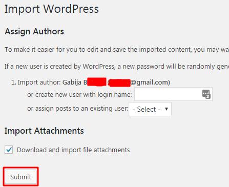 importer utilisateurs wordpress
