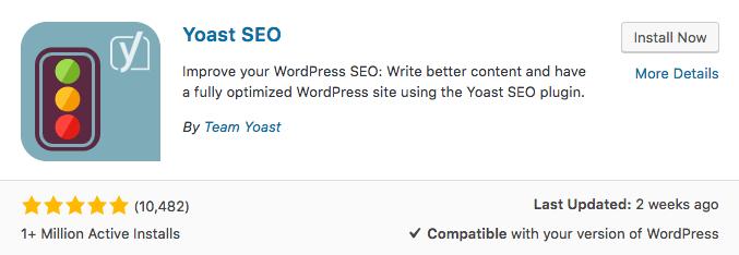 seo yoast plugin