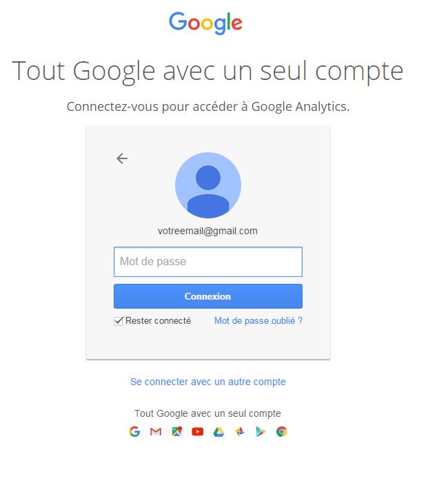 votre email google