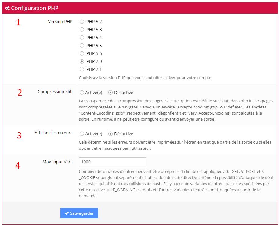 configuration php hostinger