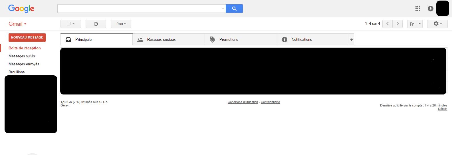 gmail accueil