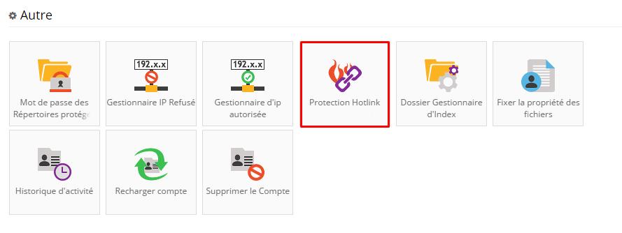 protection hotlink hostinger