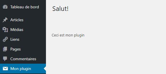 mon plugin