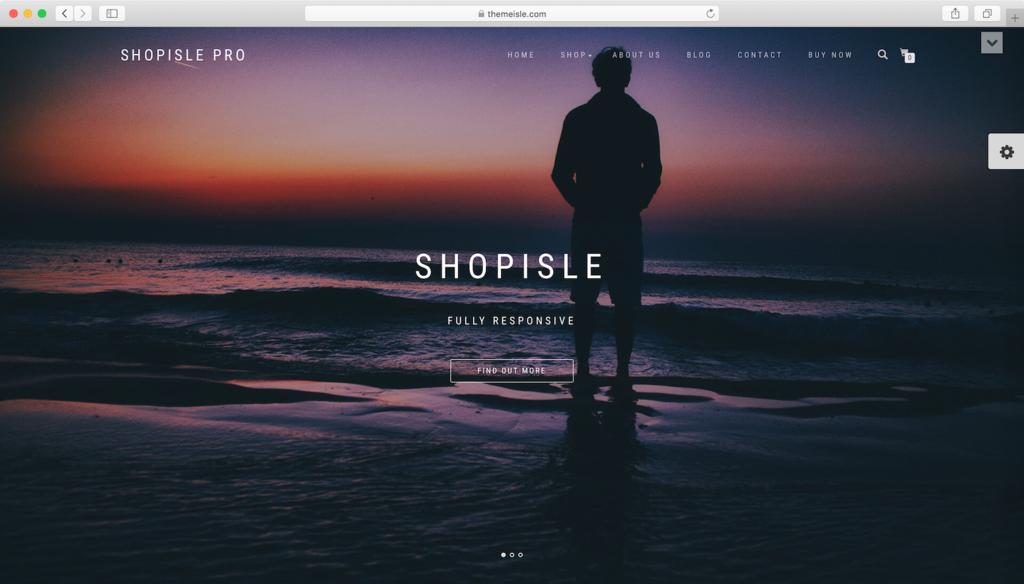 Thème WordPress ShopIsle.