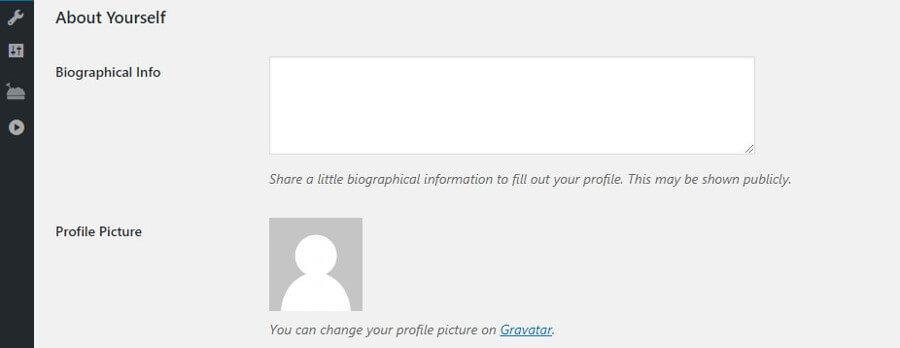 information profil