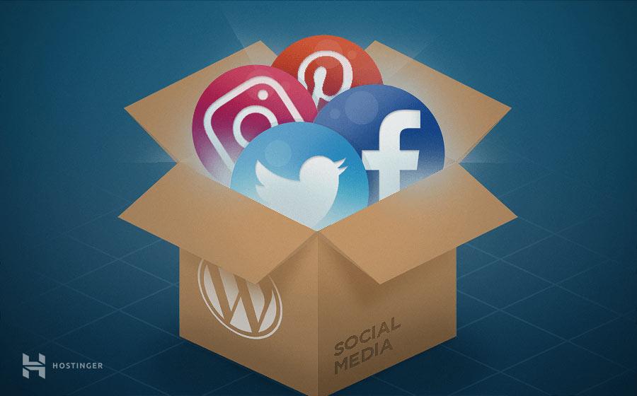 3 façons simples d'intégrer les réseaux sociaux WordPress