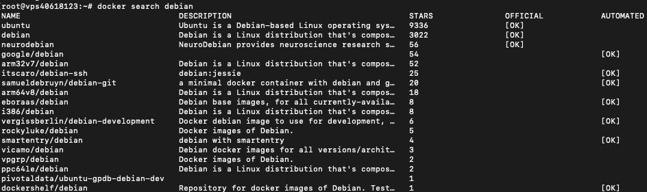 Résultat de recherche Docker Ubuntu