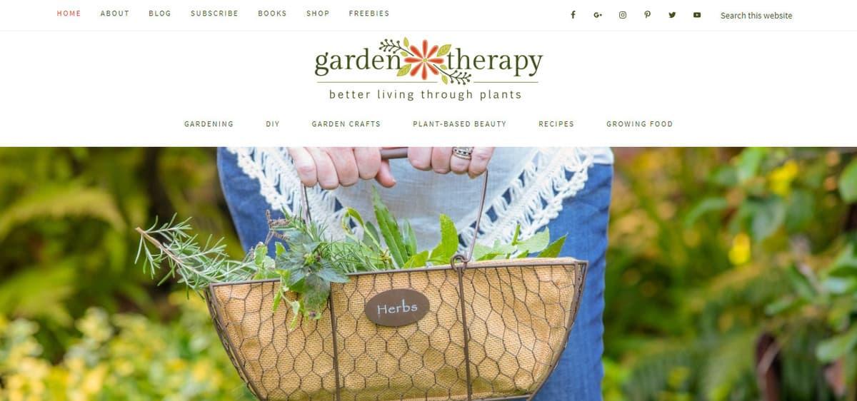 Exemple de blog de jardinage