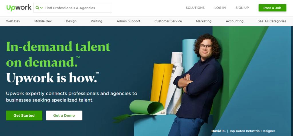 Upwork est l'une des meilleures plateformes de freelance à l'heure actuelle.
