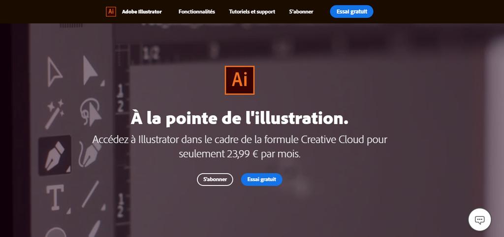 Adobe Illustrator est un outil pour un emploi à domicile
