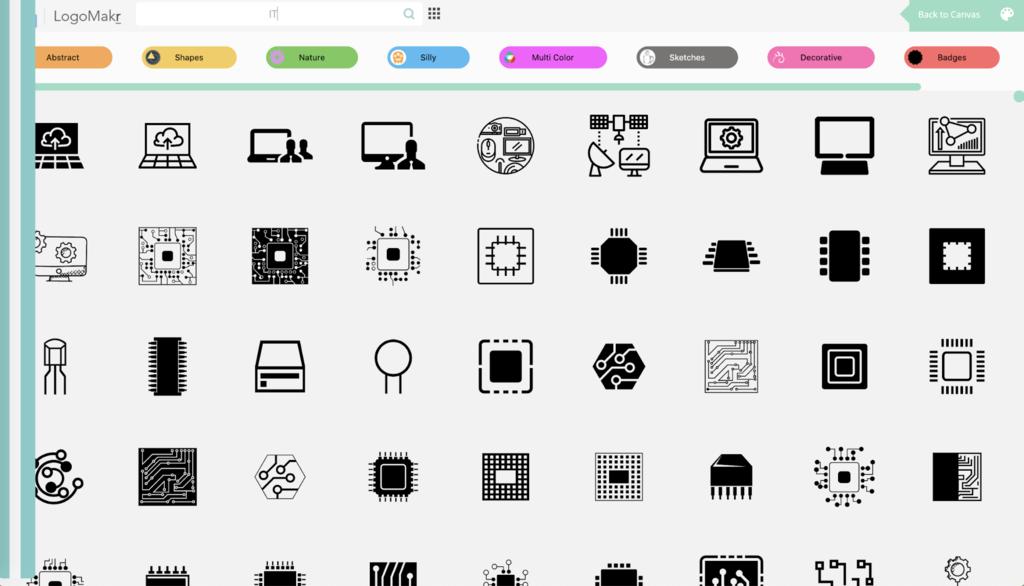 Les designs et modèles de LogoMakr