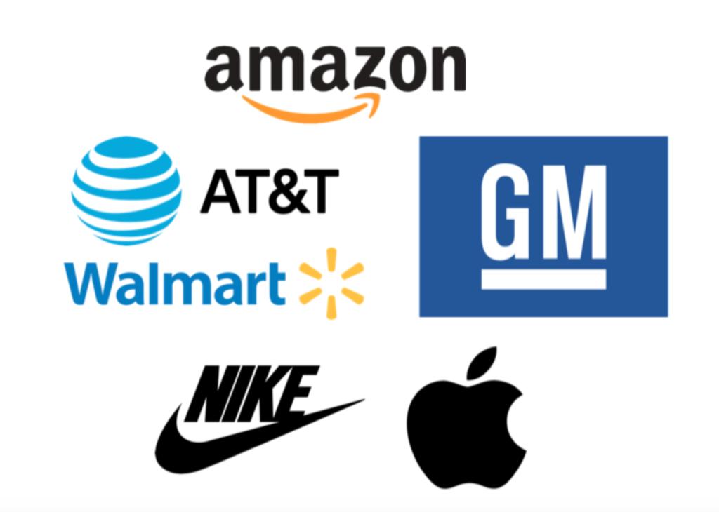 Exemple des logos les plus célèbres et les plus reconnaissables au monde