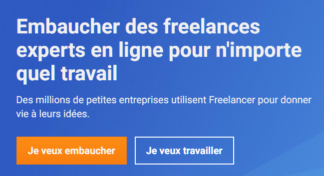 Freelancer : le plus grand réseau de freelance