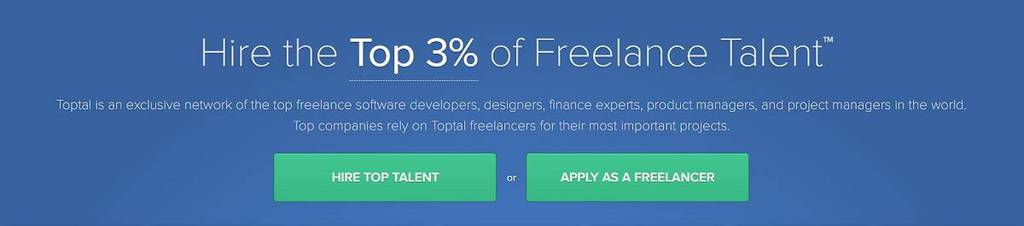 Toptal, top 3 % des talents