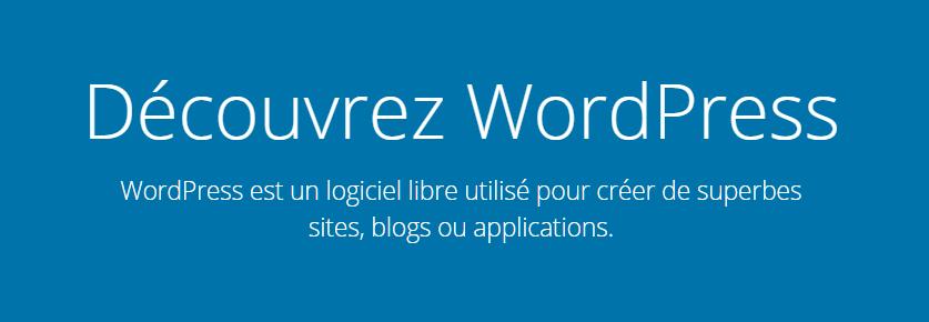 La page de connexion à WordPress lors de la comparaison entre wordpress et wix