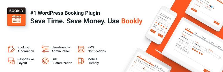 Bookly plugin de réservation WordPress