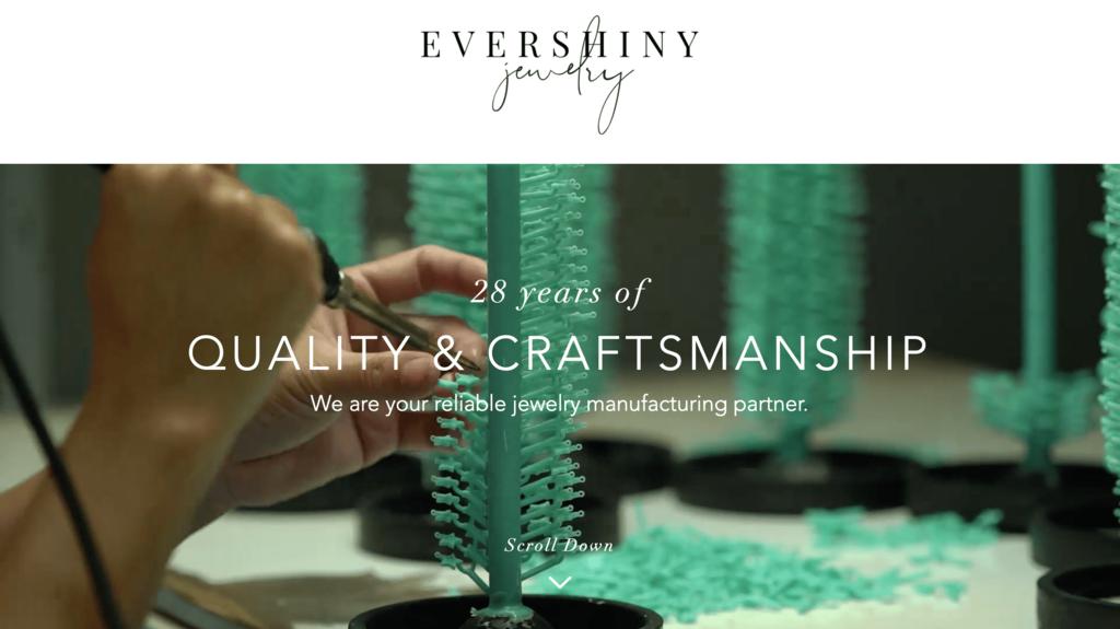 Fabricant de boutiques Evershiny
