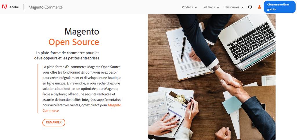 Magento, CMS pour créer une boutique en ligne
