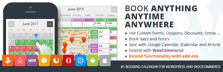 Pinpoint Booking System plugin de réservation WordPress