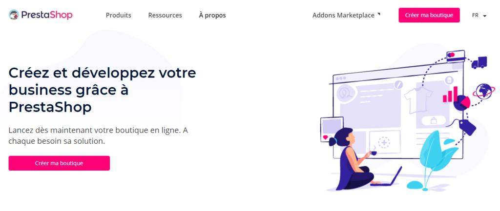 PrestaShop, logiciel pour créer une boutique en ligne