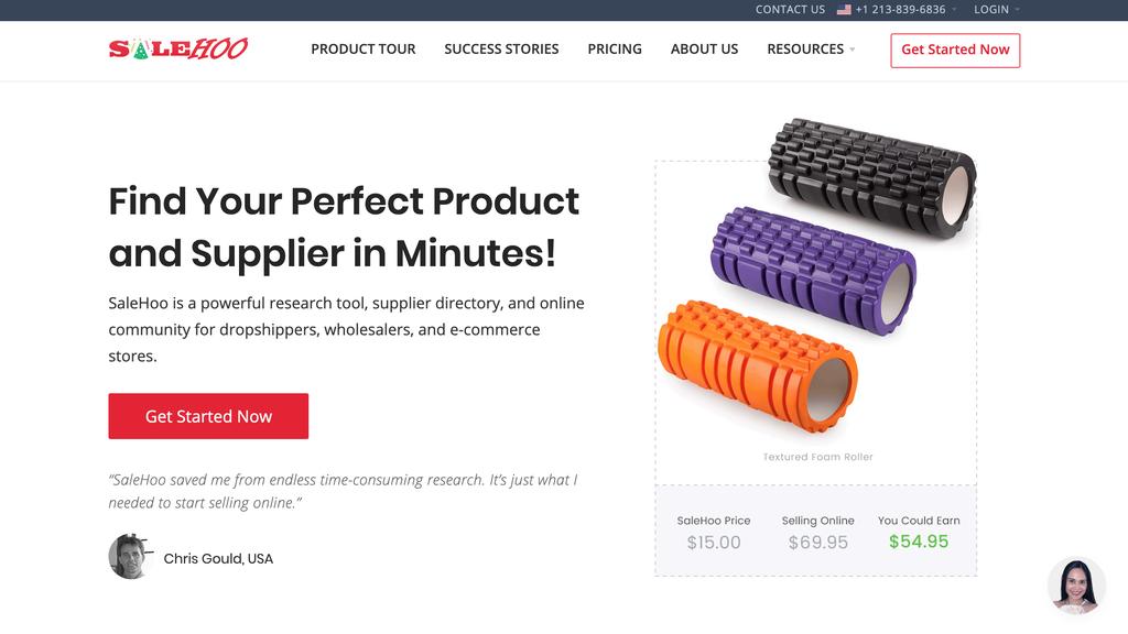 Salehoo, un fournisseur pour créer une boutique en ligne.