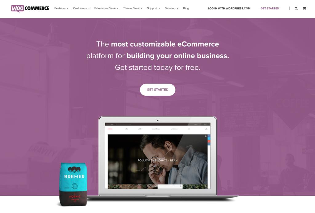 WooCommerce, extension e-commerce pour boutique en ligne.