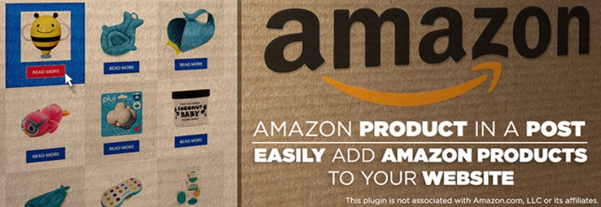 Le plugin Amazon Product in a Post.