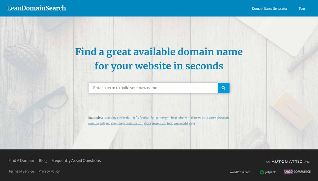 Lean Domain Search parmi les meilleurs générateurs de noms de domaine