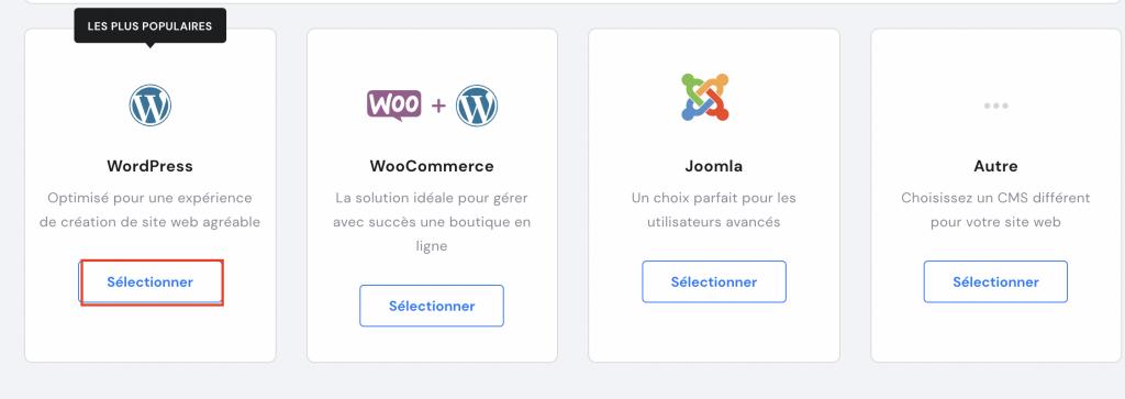 Installation du plugin WordPress